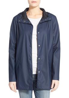 Cole Haan Hooded Raincoat