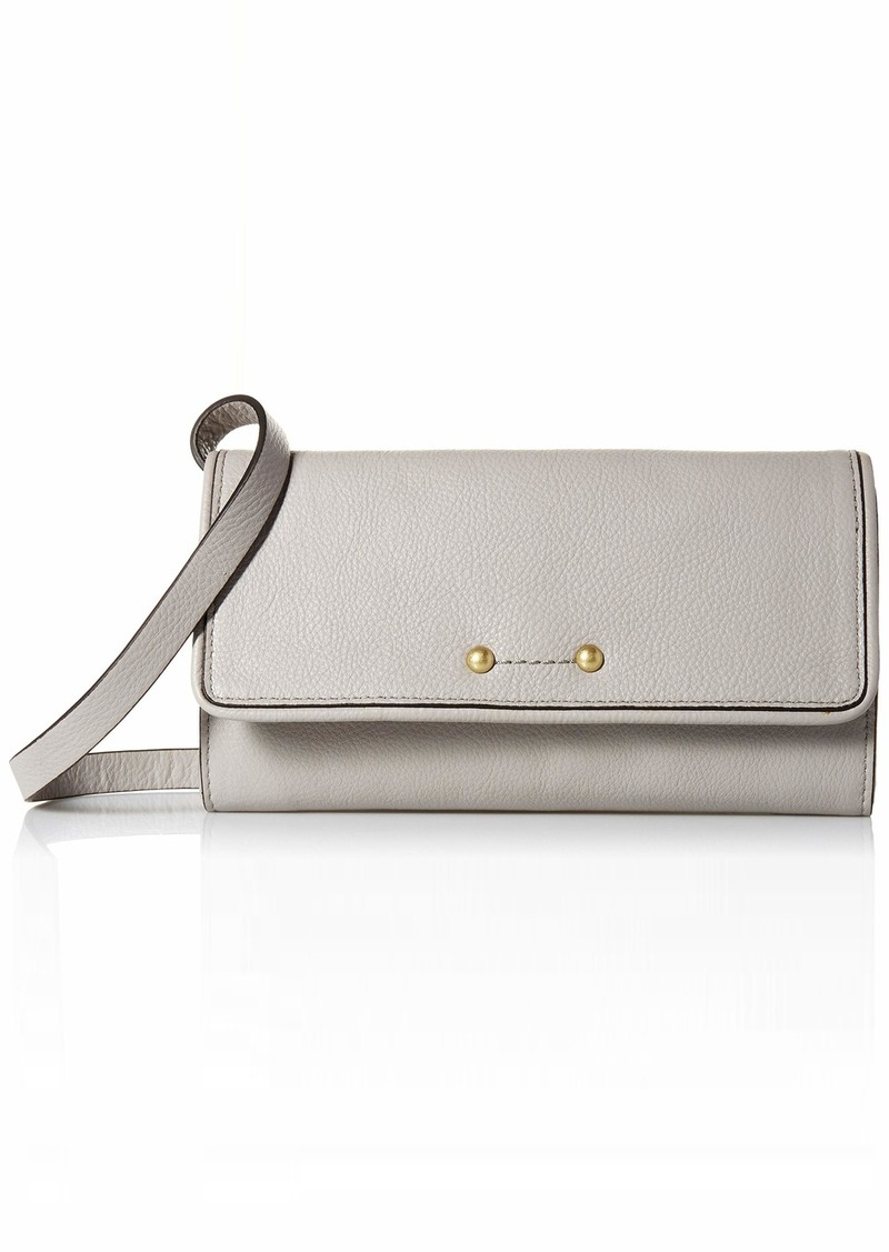Cole Haan Jade Leather SMARTHPHONE Crossbody Bag dove