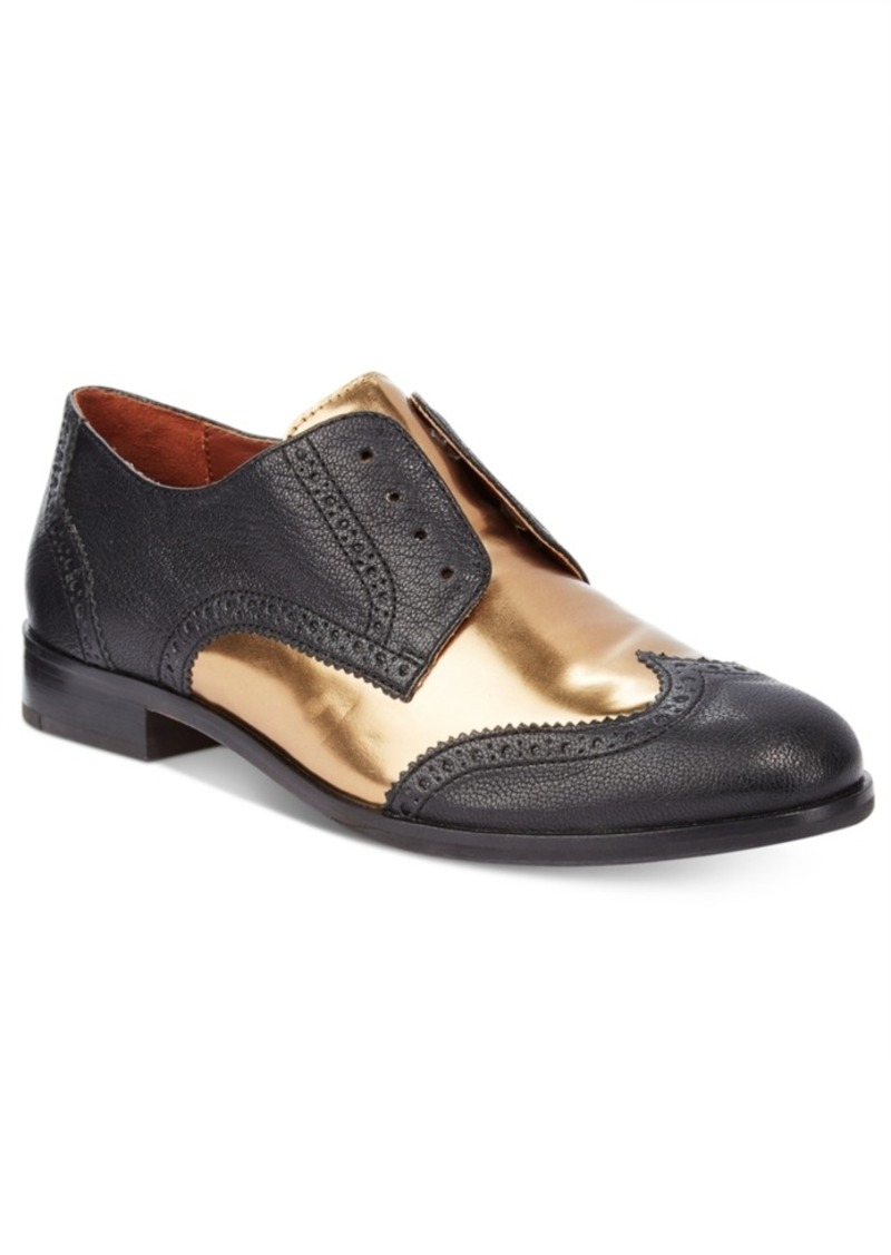 41b1cf7d76ae4 Jagger Wing Oxford Flats Women's Shoes