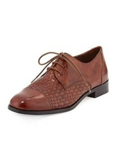 Cole Haan Jagger Woven Leather Oxford
