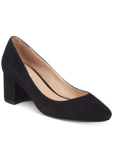 Cole Haan Justine 55 Block-Heel Pumps Women's Shoes