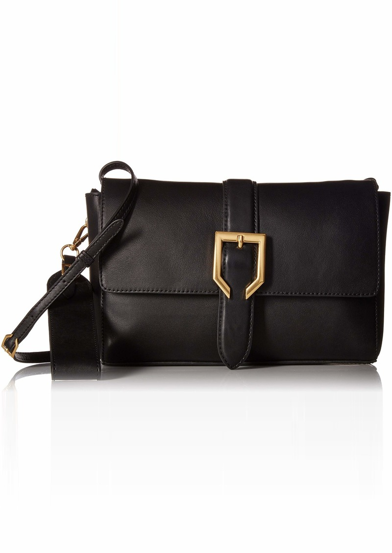 Cole Haan Kayden Leather Crossbody Bag black