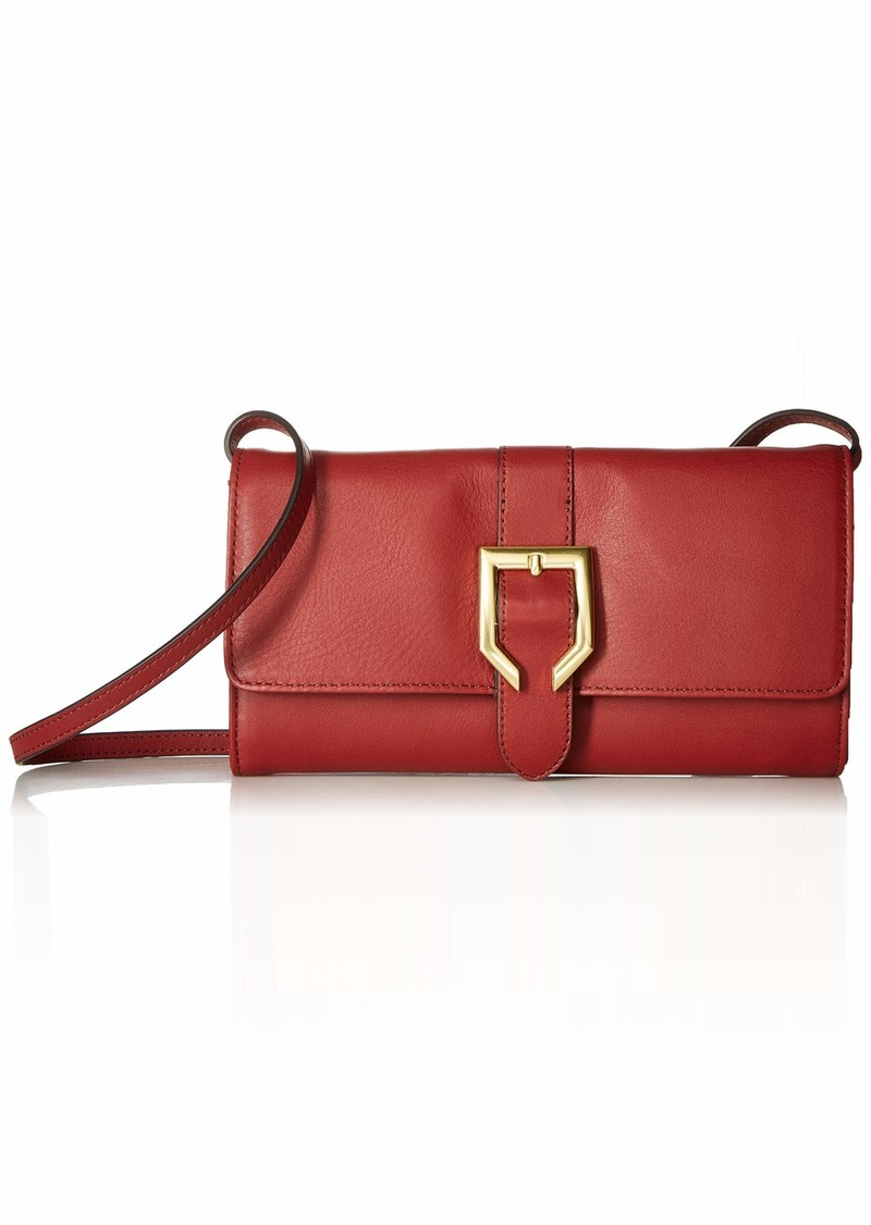 Cole Haan Kayden Leather SMARTHPHONE Crossbody Bag syrah
