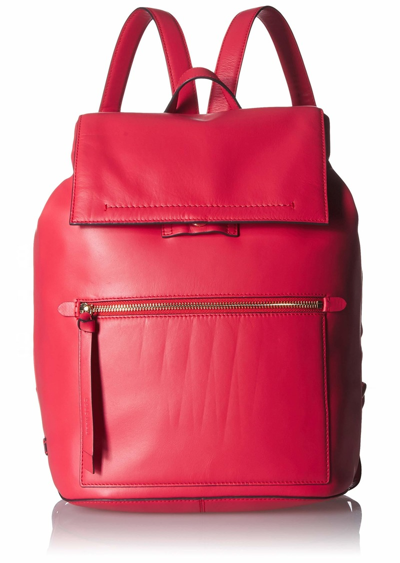 Cole Haan KAYLEE SMOOTH LEATHER BACKPACK teaberry
