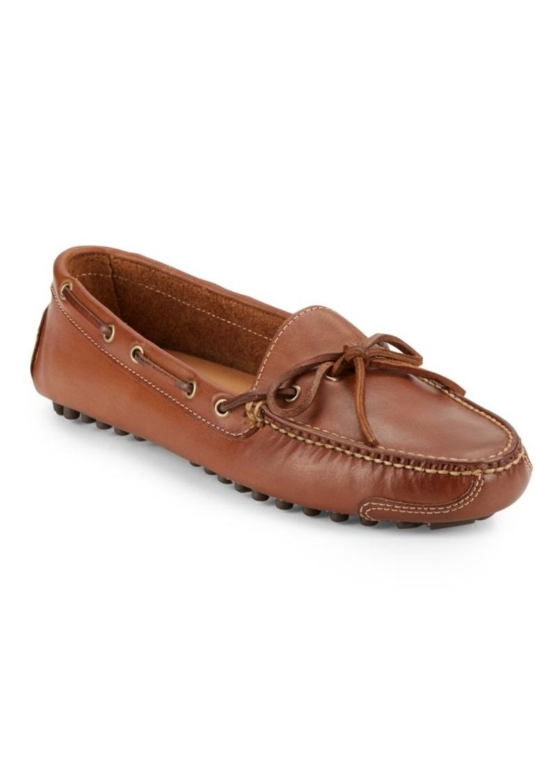 10b2f11f2c8 Cole Haan Cole Haan Lace Tie Leather Driver Loafers