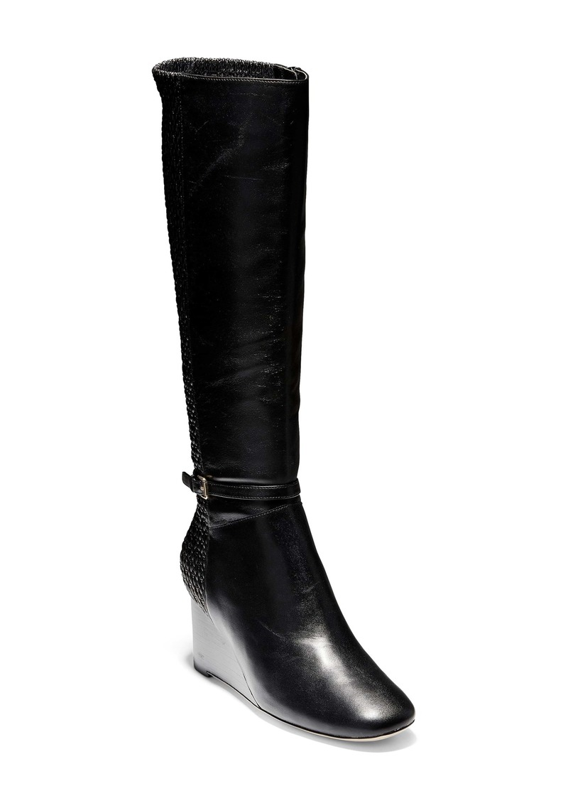 Cole Haan Lauralyn Knee High Wedge Boot (Women)