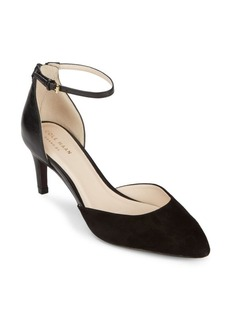 Cole Haan Leather Ankle-Strap Pumps