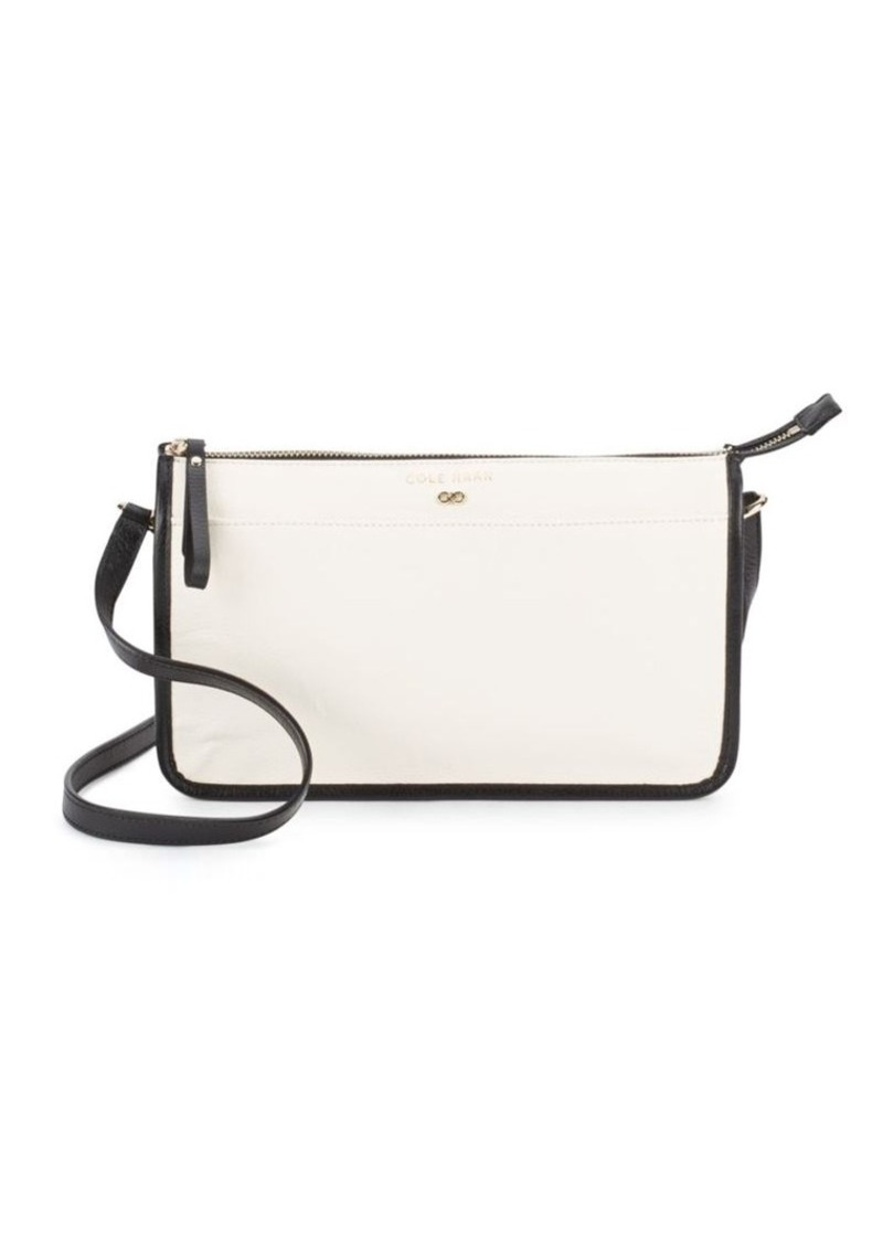Cole Haan Leather Crossbody Shoulder Bag