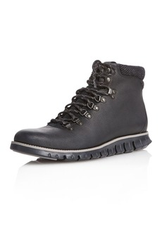 Cole Haan Men's Leather Lace-Up Hiking Boots
