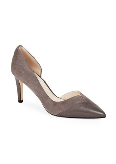 Cole Haan Leather Point-Toe d'Orsay Pumps