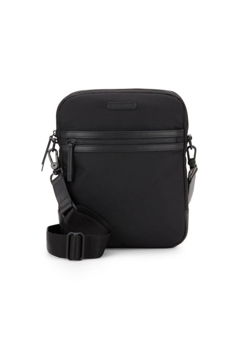 Cole Haan Leather-Trimmed Nylon Reporter Bag