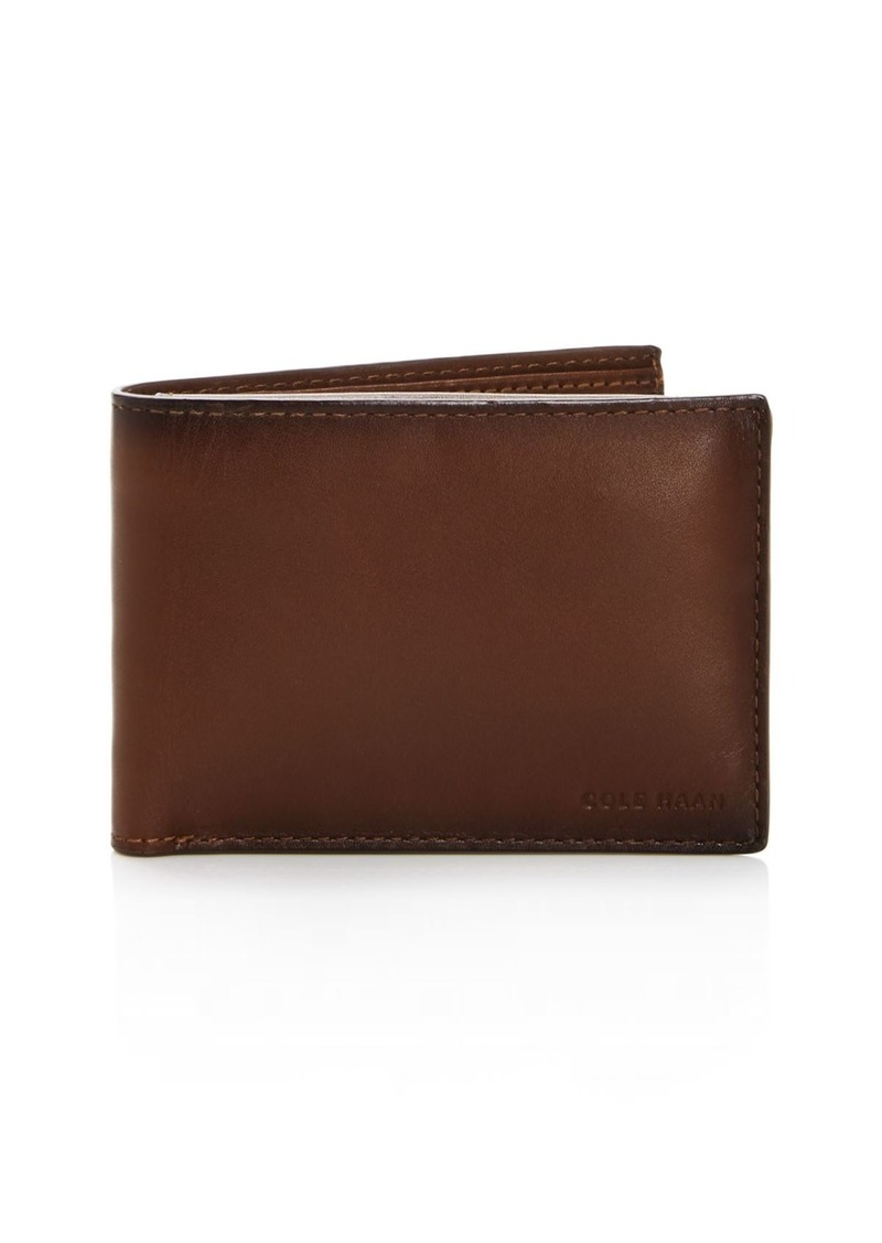 Cole Haan Leather Wallet with Passcase