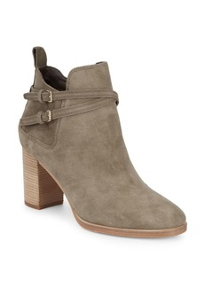 Linnie Suede Booties