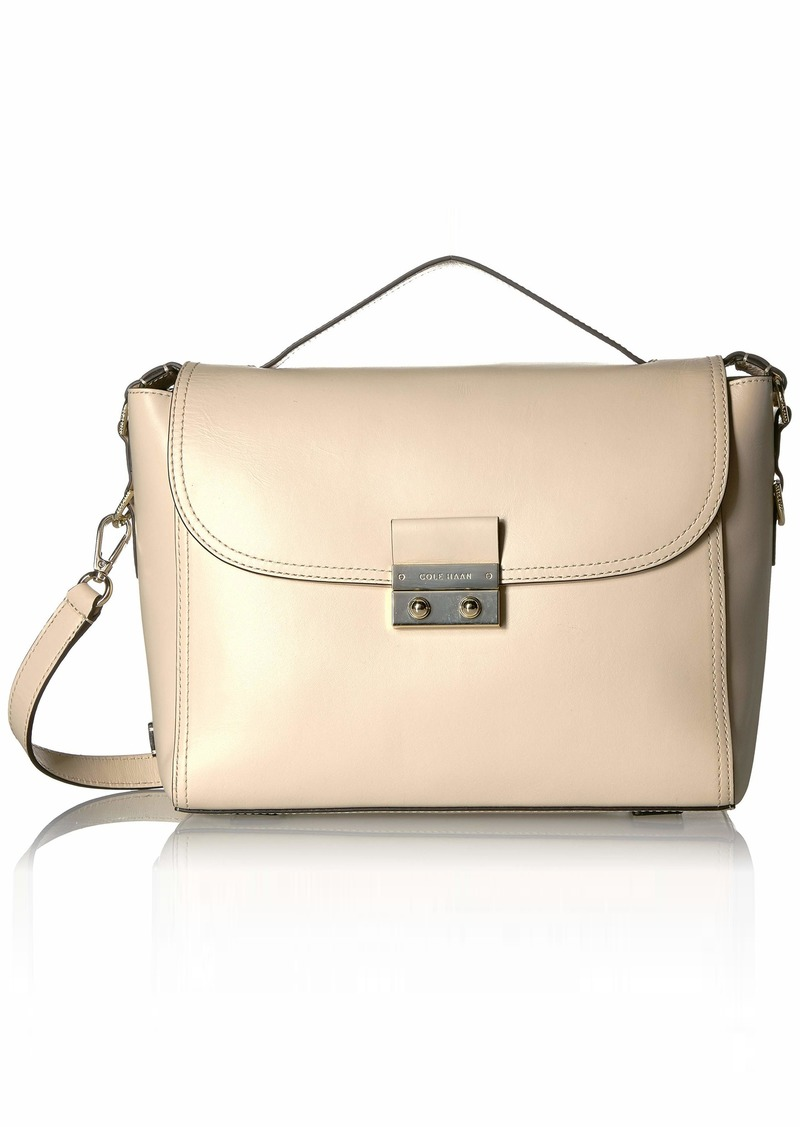Cole Haan Lock Group Satchel brazilian Sand