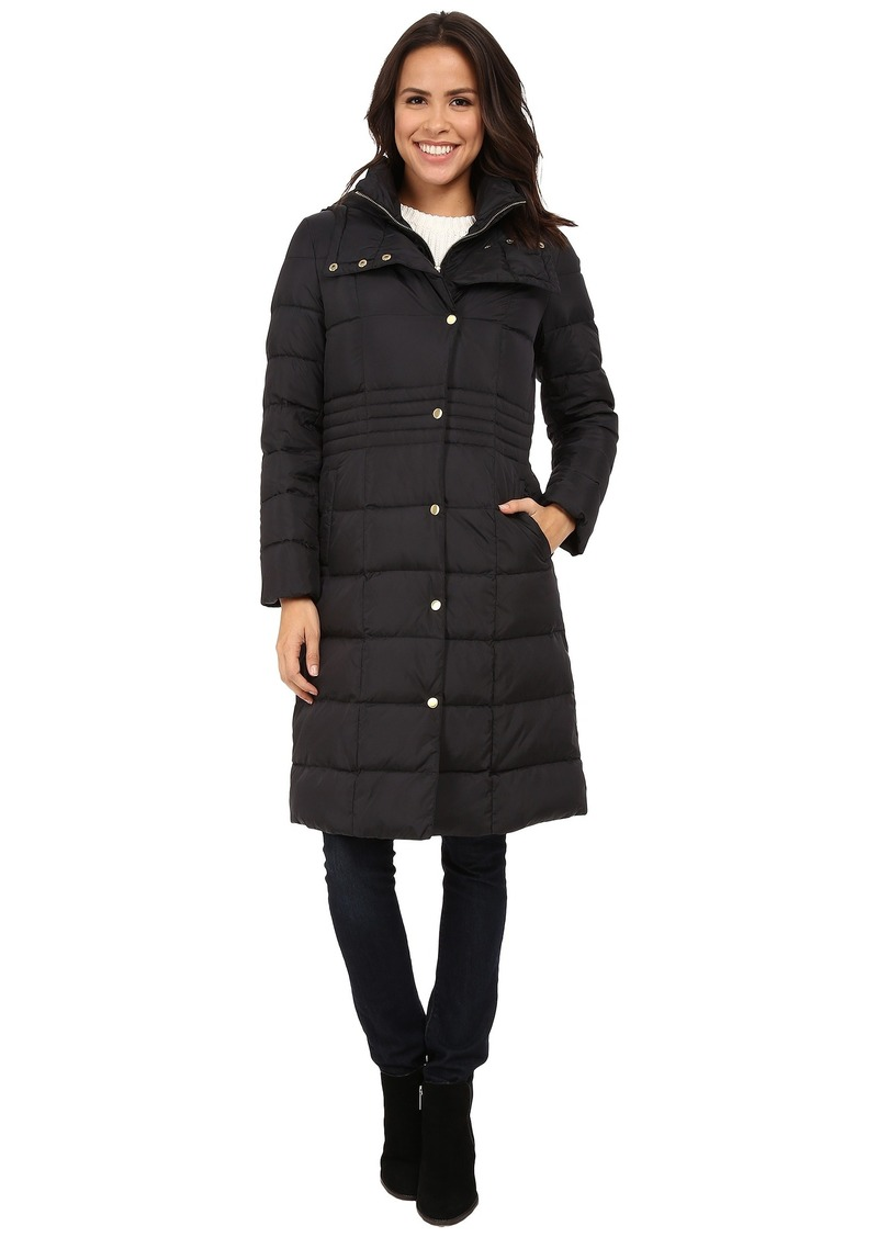 Cole Haan Cole Haan Long Down Coat with Bib | Outerwear - Shop It ...