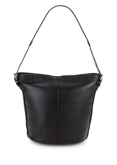 Cole Haan Loralie Leather Bucket Bag
