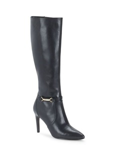 Cole Haan Loveth Black Leather Boot
