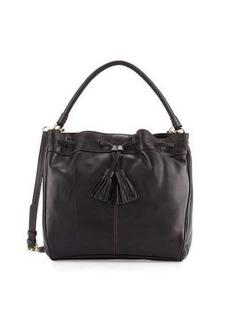 Cole Haan Loveth Drawstring Leather Hobo Bag