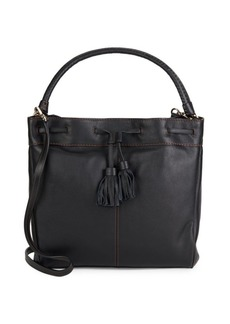 Cole Haan Loveth Tasseled Leather Tote Bag