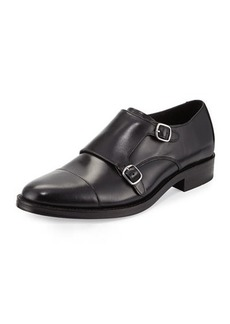 Cole Haan Madison Double-Monk Leather Loafer
