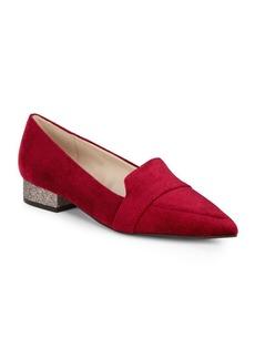 Marlee Skimmer Velvet Pointed Shoes
