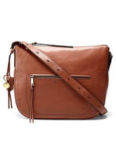 Cole Haan Marli Leather Bucket Hobo