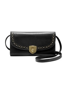 Cole Haan Marli Studded Leather Crossbody Bag