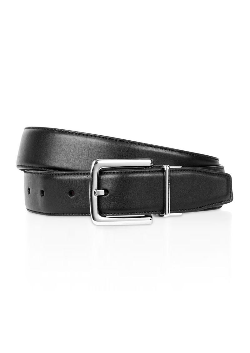 Cole Haan Men's Matte Leather Reversible Belt