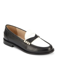 Cole Haan Mazie Colorblock Leather Loafers