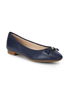 Cole Haan Megan Leather Ballet Flats