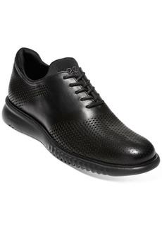 Cole Haan Men's 2.ZERØGRAND Laser Saddle Oxfords Men's Shoes