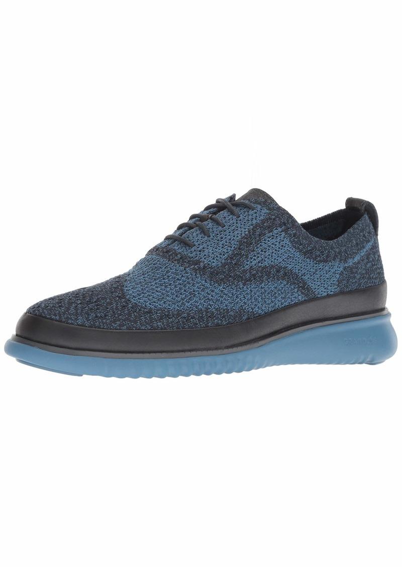 Cole Haan Men's 2.Zerogrand Stitchlite OX Water Resistant Sneaker Blueberry wr/Stellar  M US