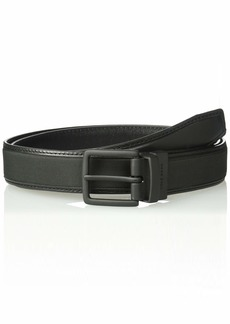 Cole Haan Men's 30mm Reversible Leather Belt with Nylon Inlay black