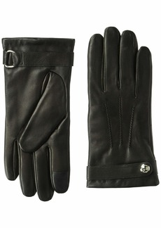 Cole Haan Men's Belted Leather Glove with Center Points  M