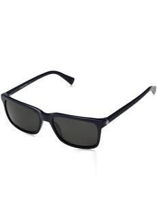Cole Haan Men's Ch6000 Plastic Square Sunglasses