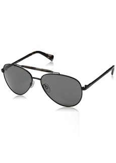 Cole Haan Men's Ch6002s Aviator Sunglasses  59 mm