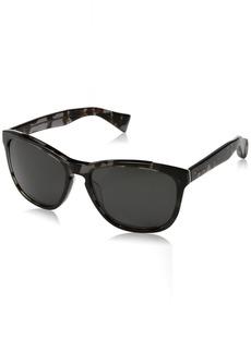 Cole Haan Men's Ch6004s Square Sunglasses BLACK TORTOISE 57 mm