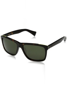 Cole Haan Men's Ch6005 Plastic Square Sunglasses  58 mm