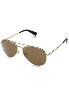 Cole Haan Men's Ch6007 Metal Aviator Sunglasses