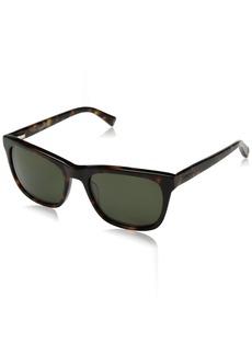 Cole Haan Men's Ch6009 Plastic Square Sunglasses