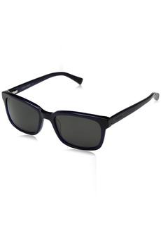 Cole Haan Men's Ch6010 Plastic Square Sunglasses