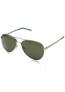 Cole Haan Men's Ch6020 Metal Aviator Sunglasses
