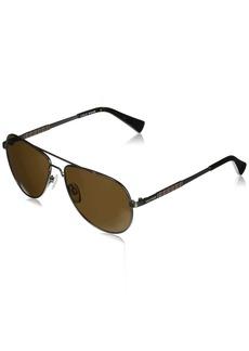 Cole Haan Men's Ch6036 Metal Aviator Sunglasses