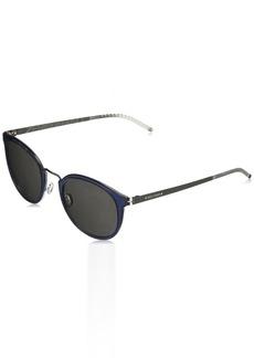 Cole Haan Men's Ch6040 Metal Round Sunglasses