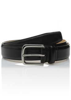 Cole Haan Men's Cole Haan 32mm Pinch Spazzolato Leather Belt black Polished Nickel