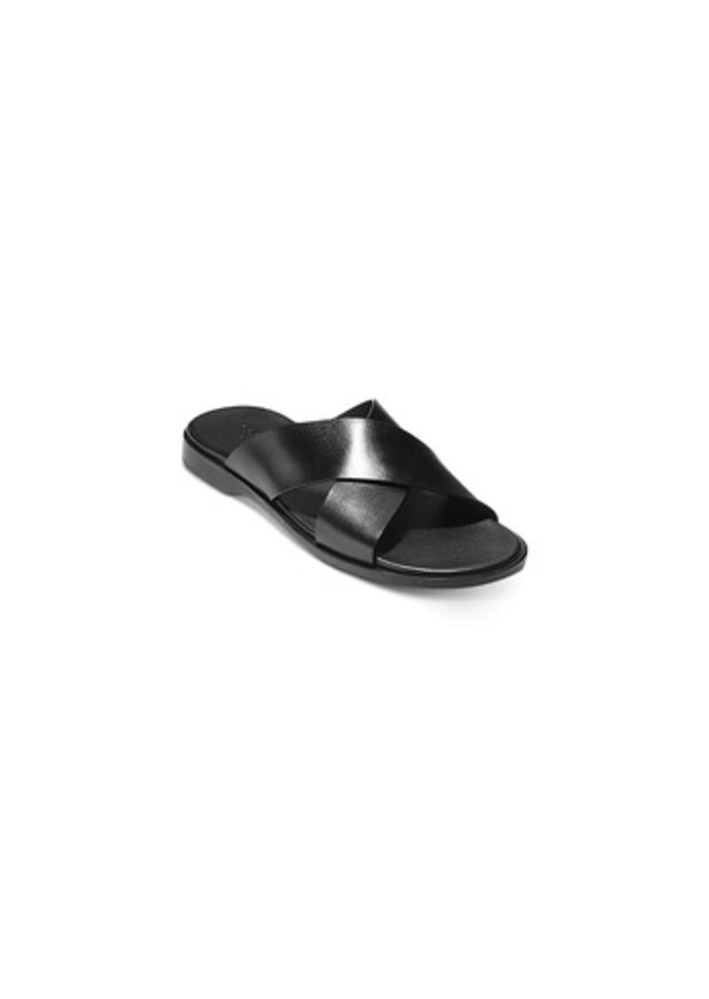 3da9e396efc7 Cole Haan Cole Haan Men s Goldwyn Criss Cross Sandals Men s Shoes ...