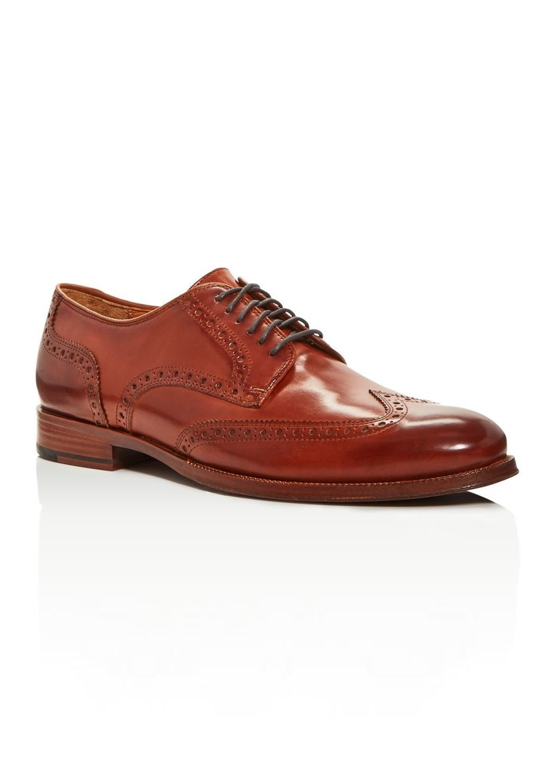 Cole Haan Men's Gramercy Leather Wingtip Oxfords