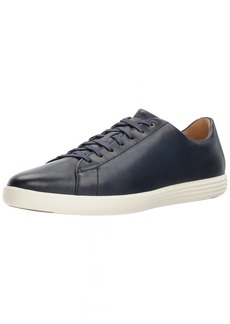 Cole Haan Men's Grand Crosscourt II Sneaker navy leather burnished  M US