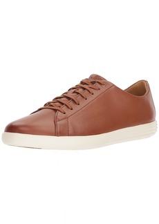 Cole Haan Men's Grand Crosscourt II Sneaker tan leather burnished  Medium US