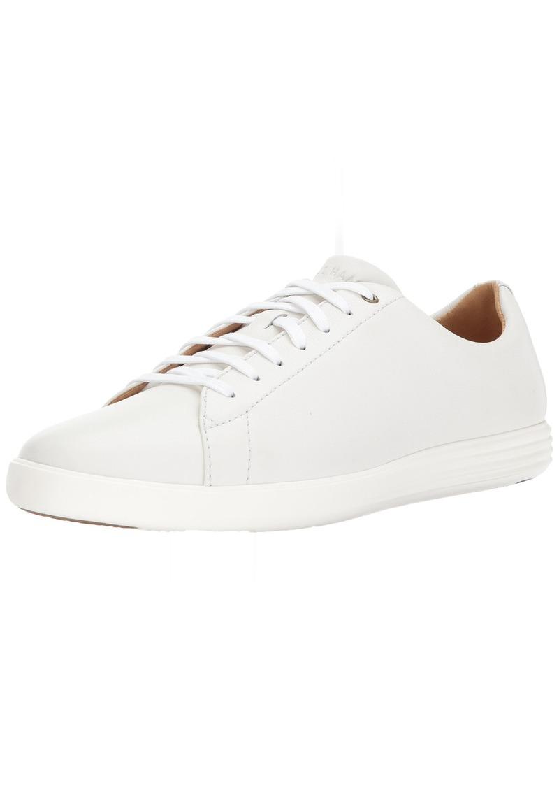 Cole Haan Men's Grand Crosscourt II Sneaker white leather  Medium US